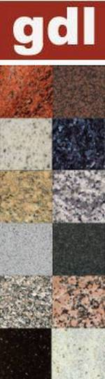 Stone samples, Granite Direct Limited, Enfield EN2 9DS